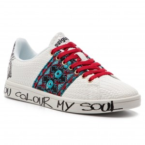 36f5f29315d4c Sneakersy DESIGUAL - Shoes Cosmic Exotic Tropical 19SS12 1000