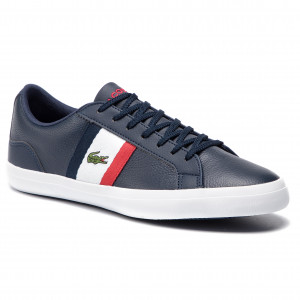 4a600ab2af501 Sneakersy LACOSTE Lerond 119 3 Cma 7-37CMA00457A2 Nvy Wht Red
