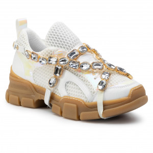 40d62fd92d8a2 Sneakersy HEGO'S MILANO 1104 Nappa/Ape Bianco