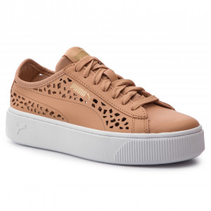 Sneakersy PUMA Vikky Stacked Laser Cut 369378 03 Toast