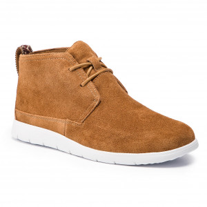 2e5d388d445f5 Trzewiki TOMMY HILFIGER - Light Nubuck Lace Up FM0FM01716 Cognac 606 ...