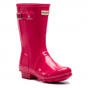 Гумові чоботи HUNTER - Original Kids Gloss JFT6000RGL Bright Pink b33896d253024