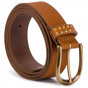 Жіночий ремінь WRANGLER - Studsy Belt W0B84US85 85 Brown 6109ef447edeb