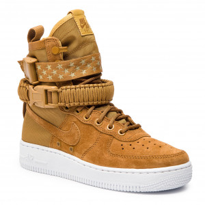9c7c025e Buty NIKE - W Sf Af1 857872 203 Muted Bronze/Muted Bronze