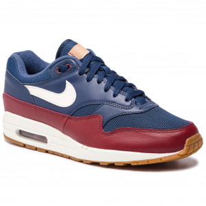 san francisco 02a8e de33f Buty NIKE - Air Max 1 AH8145 400 Navy Sail Team Red Sail