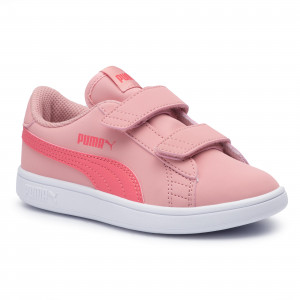 ff43fdf1 Sneakersy PUMA - Smash V2 Buck V Ps 365183 12 Bridal Rose/Calypso Coral