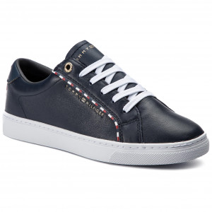 371eac97bf34e Sneakersy TOMMY HILFIGER - Corporate Detail Sneaker FW0FW04149 Midnight 403