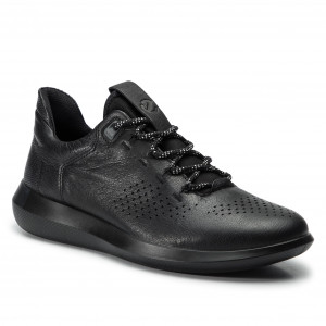 9f529344 Sneakersy ECCO - Cool 2.0 GORE-TEX 84251401001 Black - Sneakersy ...