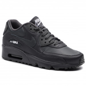 finest selection 93484 dfeca Buty NIKE - Air Max 90 Ltr (GS) 833412 027 Anthracite White