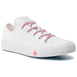 a47fedd778381 Trampki CONVERSE Ctas Ox 564117C White/Racer Pink/Gnarly Blue