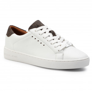 80df5f01cce9a Sneakersy MICHAEL MICHAEL KORS Irving Lace Up 43S7IRFS3L Op Wht/Brown