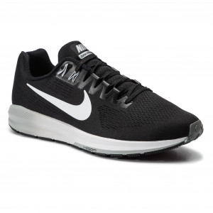 349f7940bf87 Buty NIKE - Air Zoom Structure 21 904695 001 Black White Wolf Grey