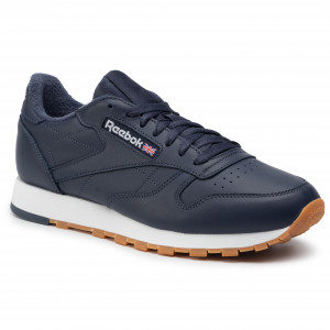 791adf66 Buty Reebok - Cl Leather Mu DV7170 Heritage Navy/White