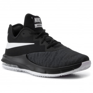 release date: 99232 e26de Buty NIKE - Air Max Infuriate III Low AJ5898 001 Black White Dark Grey