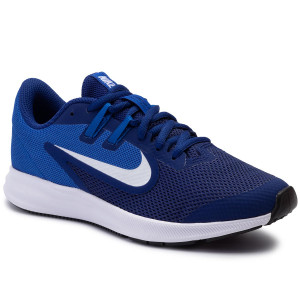bb8adaed027f36 Buty NIKE Downshifter 9 (Gs) AR4135 400 Deep Royal Blue/White