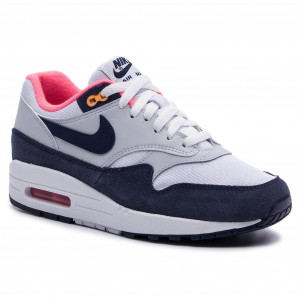 06612d3536d0f Buty NIKE - Air Max 1 319986 116 White/Midnight Navy