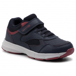8f523a70d7f97 Sneakersy GEOX J Hoshiko B. A J845GA 0FEFU C0735 S Navy/Red