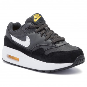 51d7218bc9ba3 Buty NIKE Air Max 1 (PS) 807603 017 Anthracite/White/Black