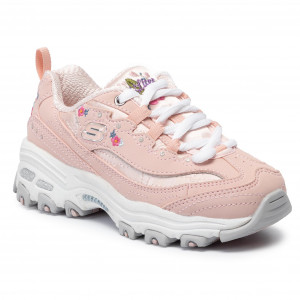 Sneakersy SKECHERS D'lites Crowd Appeal 80588NLPKW Light