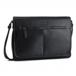 3ac16175d6668 Torba na laptopa U.S. POLO ASSN. NewSideb. Messenger Bag BEUND0546MVP000  Black