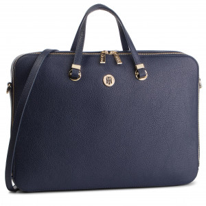 dd47a440725ba Torba na laptopa TOMMY HILFIGER - Th Core Computer Bag AW0AW06424 901